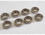 HaiBoXing 12882P Parts-29-03 59300 ball bearing(8pcs)-5x9x3mm