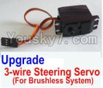HaiBoXing 12882P Parts-34-03 12224 Upgrade Brushless 3-wire Steering Servo