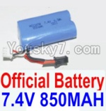 HaiBoXing 12882P Parts-39-01 12032N Official 7.4V 850mah Battery(1pcs)