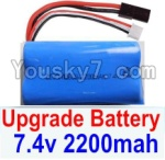 HaiBoXing 12882P Parts-39-03 Upgrade 7.4V 2200mah Battery(1pcs)