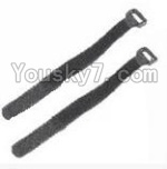 HaiBoXing 12882P Parts-39-05 Battery straps(2pcs)