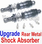 HBX 12883P Parts-07-06 12204 Upgrade Rear Metal hydraulic shock absorber(2pcs)