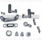 HBX 12883P Parts-08 12009P Steering Assembly & Servo Saver Assembly & Battery Door Block,Battery Door Lock