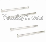 HaiBoXing 12883P Parts-21 12020 Front Bottom Suspension Arms Pin(4pcs)-3.3X37mm