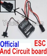 HBX 12883P Parts-33-04 12031N Official ESC and Circuit board