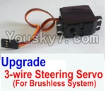 HaiBoXing 12883P Parts-34-03 12224 Upgrade Brushless 3-wire Steering Servo