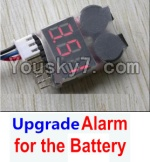 HaiBoXing 12883P Parts-39-04 Upgrade Alarm for the Battery,Can test whether your battery has enouth power