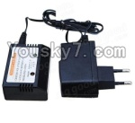 HaiBoXing 12883P Parts-39-08 Official charger and balance charger(Can charge 1 battery at the same time)