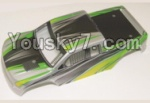 HBX 12883P Parts-41-01 12081 Car canopy,Shell cover-Green