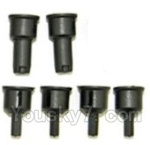 HBX HaiBoXing 12891 Parts-05-07 Rear drive cup(2pcs) & Differential Cup(4pcs)