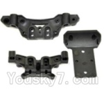 HBX HaiBoXing 12891 Parts-06-02 Front and Rear shockproof board,Shock Absorbers board