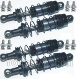 HBX HaiBoXing 12891 Parts-09-04 12203BT Upgrade Metal Front and Rear Aluminium shock set(Total 4pcs)