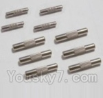 HBX HaiBoXing 12891 Parts-18 12615 Drive shaft pin A(2pcs)-2X10mm & Drive shaft pin B(6pcs)-2.2X11.5mm