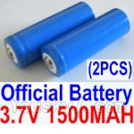 HBX HaiBoXing 12891 Parts-22-01 12633 Official 3.7V 1500mAH Battery(Li-ion Batteries)-2pcs