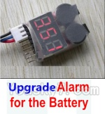 HBX HaiBoXing 12891 Parts-22-08 Upgrade Alarm for the Battery,Can test whether your battery has enouth power