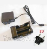 HBX HaiBoXing 12891 Parts-22-10 12641 Charge Box and Charger(Europen Standard Socket)