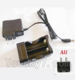 HBX HaiBoXing 12891 Parts-22-12 12643 Charge Box and Charger(Australia Standard Socket)