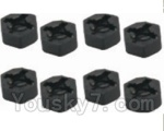 HBX HaiBoXing 12891 Parts-29 12010 Hexagon Wheel Seat(4pcs)