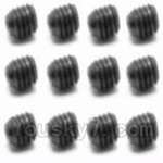 HBX HaiBoXing 12891 Parts-37 S016 Set Screw-3X3mm(12PCS)