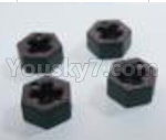 HBX 18859E Parts-12 18110 Wheel Hex., Hexagon Wheel Seat(4pcs)