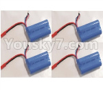 HBX 18859E Parts-34-03 18031 7.4V 650MAH Battery(4pcs)