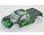 HBX 18859E Parts-44 18859E-B002 RC Car shell-Green
