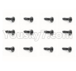 HBX 18859E Parts-47 18052 Pan Head Self Tapping Screw(12pcs)-PBHO2.3X8mm