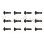 HBX 18859E Parts-51 18056 Countersunk Self Tapping Screw(12pcs)-BHO2.3X6mm