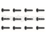 HBX 18859E Parts-52 18057 Countersunk Self Tapping Screw(12pcs)-BHO2.3X10mm