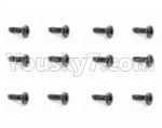 HBX 18859E Parts-53 18058 Pan Head Screw(12PCS)-PMHO2x8mm