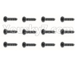 HBX 18859E Parts-55 18060 Countersunk Screw(12PCS)-KMHO1.5X5mm