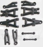 HaiBoXing 2118 Parts-02 25001 Suspension Arms & Steering Links rod