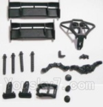 HaiBoXing 2118 Parts-04 25003 Tail Wings & Bumpers & Car Body Support column