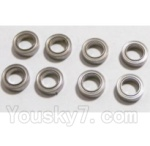 HaiBoXing 2118 Parts-20 25070 Ball Bearing(6.35x9.53x3.2mm)-8pcs