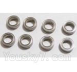 HaiBoXing 2118 Parts-21 25071 Ball Bearing(4x8x2mm)-8pcs