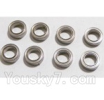 HaiBoXing 2118 Parts-22 25072 Ball Bearing(55x9x3mm)-8pcs