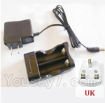 HaiBoXing 2118 Parts-27-04 25029 Charge Box and Charger(United Kingdom Standard Socket)