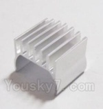 HaiBoXing 2118 Parts-28 24605 Aluminum Motor Heat Sink