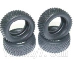 HaiBoXing 2118 Parts-31 24024R Tire lether(4pcs)-Not include the Wheel hub
