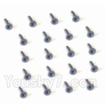 HaiBoXing 2118 Parts-40 25055 Countersunk Head Screw-2X5mm(20PCS)
