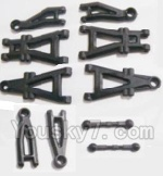 HBX 2128 Parts-02 25001 Suspension Arms & Steering Links rod