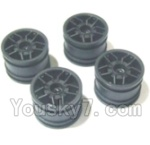 HBX 2128 Parts-30 24026 Wheel Hub(4pcs)-Not include the tire lether