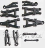 HBX 2138 Parts-02 25001 Suspension Arms & Steering Links rod