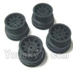 HaiBoXing 2138 Parts-30 24029 Wheel Hub(4pcs)-Not include the tire lether