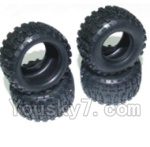 HaiBoXing 2138 Parts-31 240310R Tire lether(4pcs)-Not include the Wheel hub