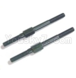 HBX HaiBoXing T6 Spare Parts-TS017 Steering Links,Steering Rods(2pcs)