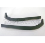 HBX HaiBoXing T6 Spare Parts-TS035 Car Body Overlays