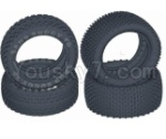 HBX HaiBoXing T6 Spare Parts-TS056-01 Front and Rear Tire(Sponge Inserted),tire lethe-(4pcs)