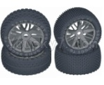 HBX HaiBoXing T6 Spare Parts-TS058-01 Front And Rear Wheels Complete,Wheels Assembly(4 Set)