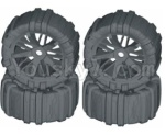 HBX HaiBoXing T6 Spare Parts-TS061-02 Front and Rear Concept Sand Wheels Complete(4 set)